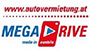 MegaDrive car rental locations in Slovakia